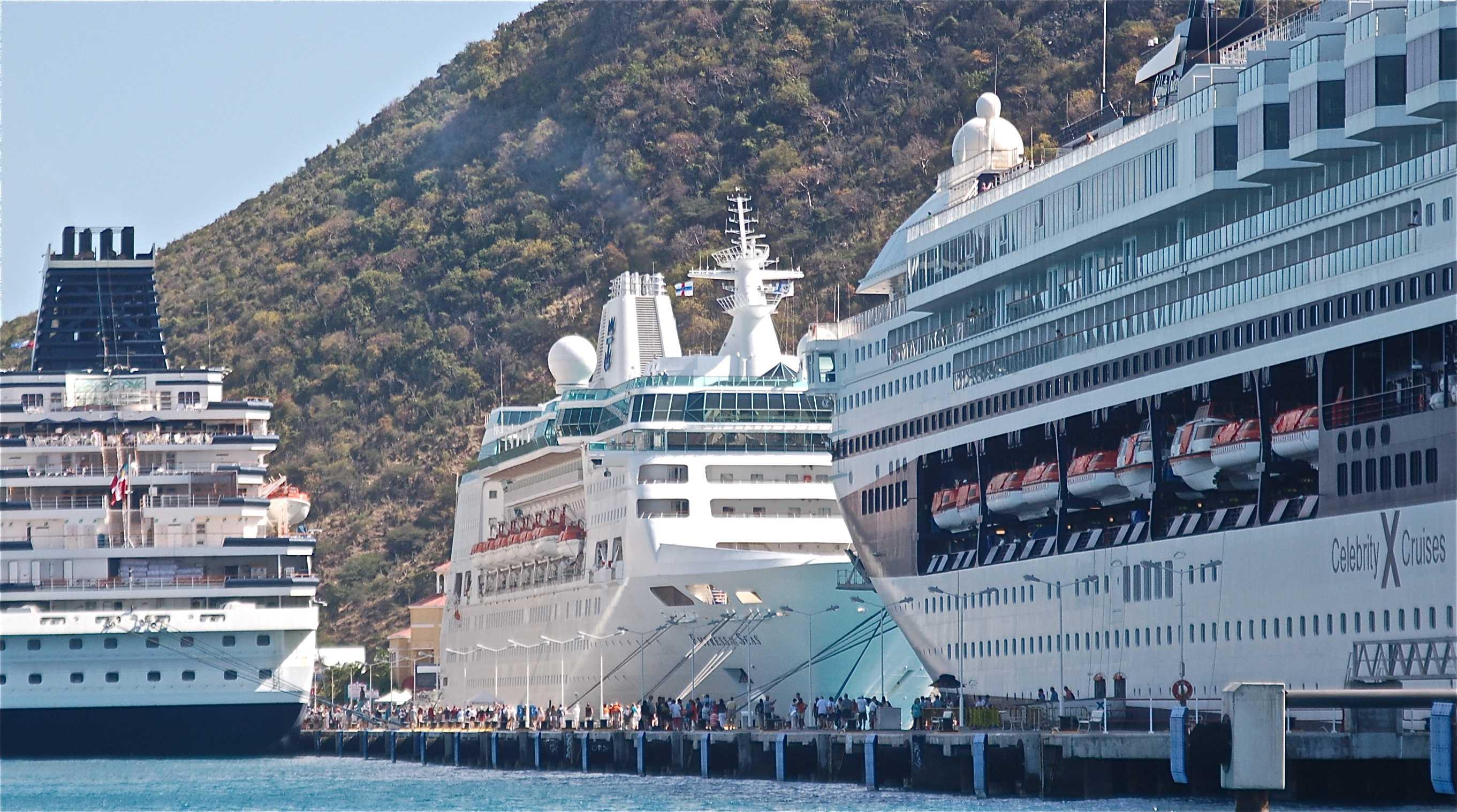 Cruise Numbers Overwhelm Small Ports Destination Stewardship - Philipsburg st maarten cruise ship schedule