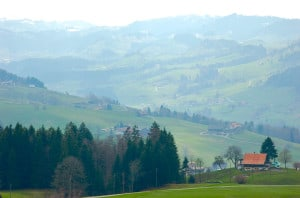 Entlebuch Biosphere Reserve, near Lucerne, recognized for holistic practices. Photo: Jonathan Tourtellot