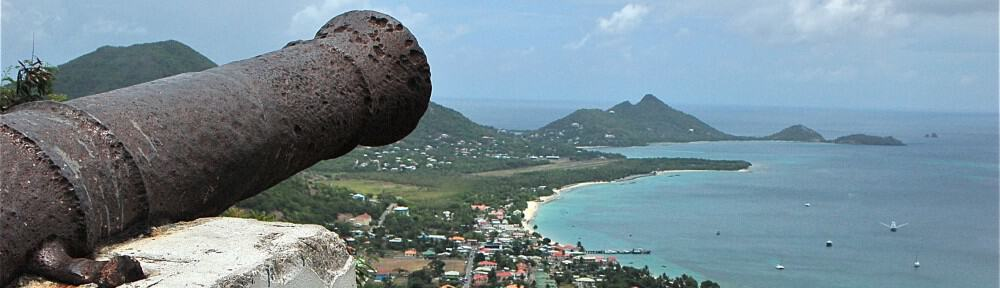 Above: View over Cariacou, Grenada. Photo: Jonathan Tourtellot