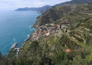 Village of Riomaggiore, Cinque Terre. Photo: Klaus with K