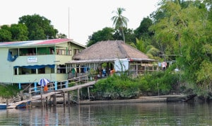 Guyana's ecolodges can be difficult to access , such as the Orealla Guest House, which takes several hours to reach by private boat.