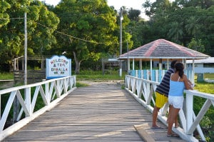 The sleepy village of Orealla in Guyana welcomes visitors and tourists.