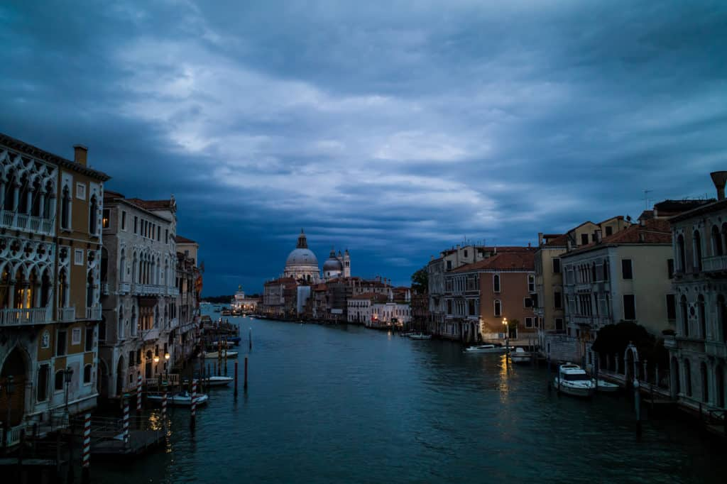 Venice's Grand Canal. Photo: Ian Dolphin