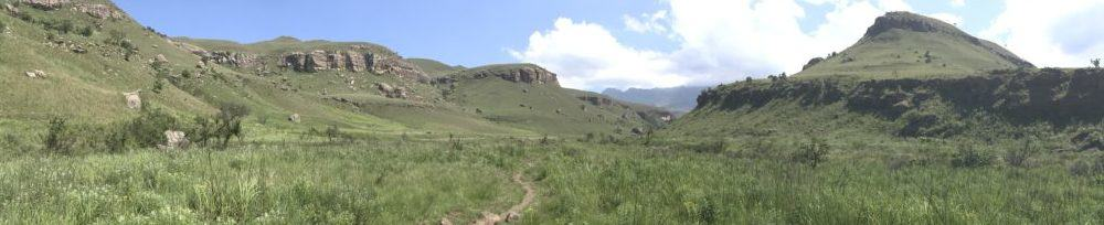 Into the Drakensberg. Photo: TK