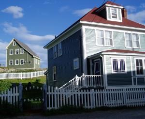Historic houses at Trinity, Newfoundland. Photo: Jonathan Tourtellot