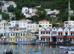 St. Georges waterfront, Grenada. Photo: Jonathan Tourtellot