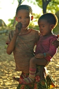 Bushmen sisters