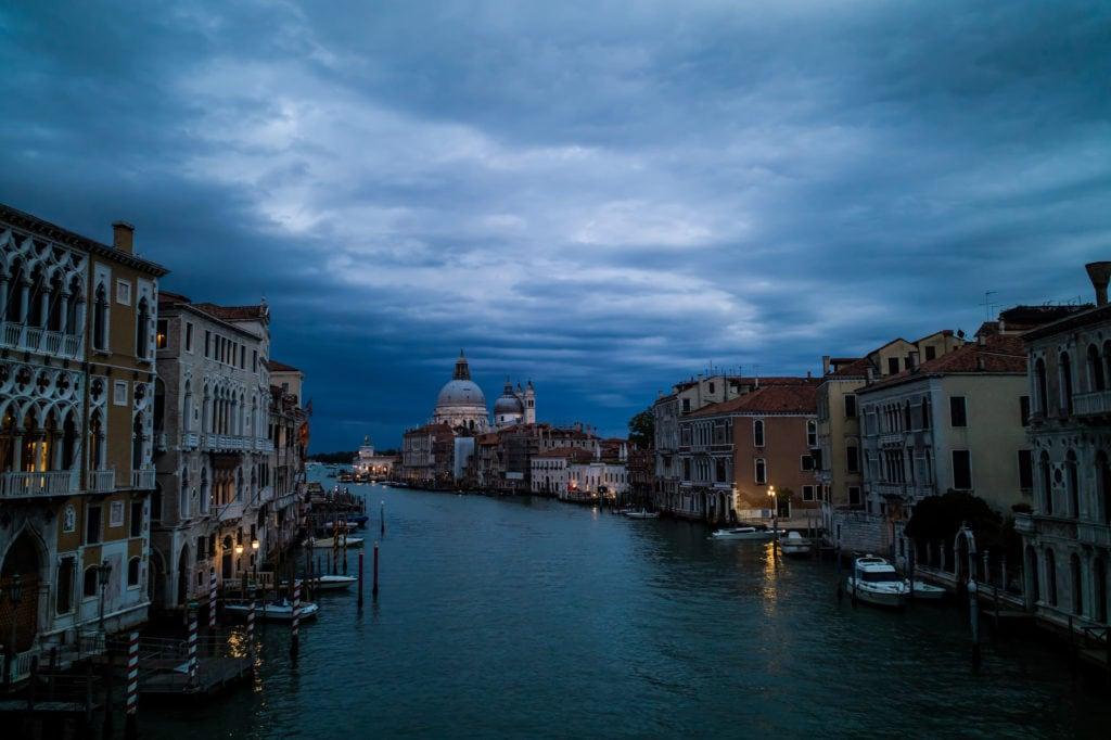 Venice's Grand Canal. Photo: Ian Dolphin