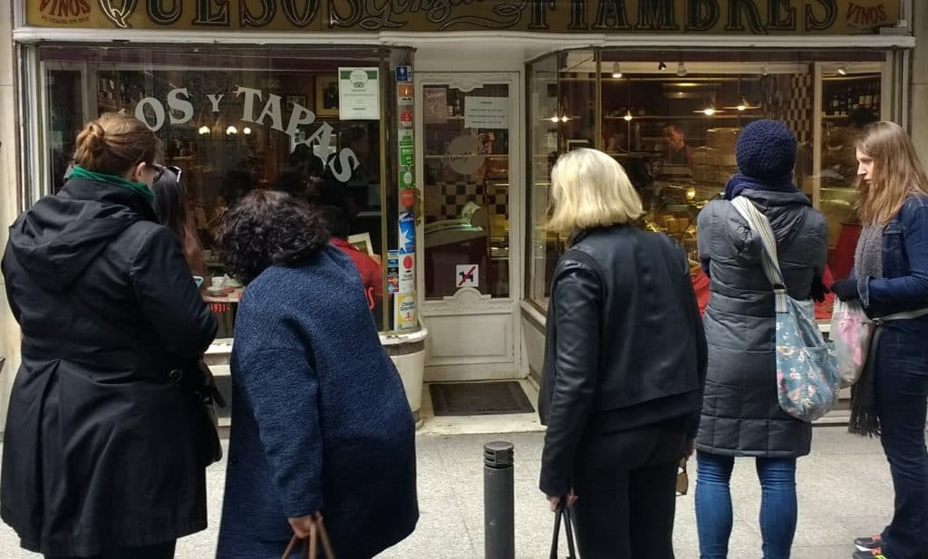 An 80+ year old local, family operated tapas and wine bar (and shop)